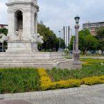 La Plaza España anteriormente conocida como La Plazuela España.